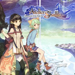 Cover for Atelier Shallie: Alchemists of the Dusk Sea.