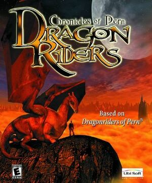 Cover for Dragon Riders: Chronicles of Pern.