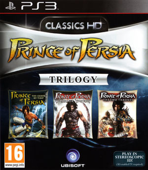 Cover for Prince of Persia Trilogy.