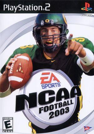 Cover for NCAA Football 2003.