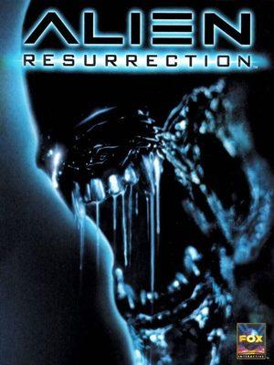 Cover for Alien Resurrection.