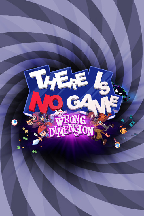 Cover for There Is No Game: Wrong Dimension.