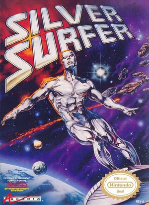 Cover for Silver Surfer.
