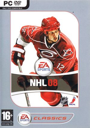 Cover for NHL 08.