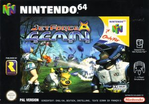 Cover for Jet Force Gemini.