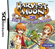 Cover for Harvest Moon: The Tale of Two Towns.