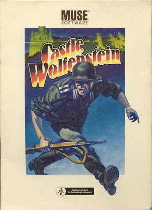 Cover for Castle Wolfenstein.