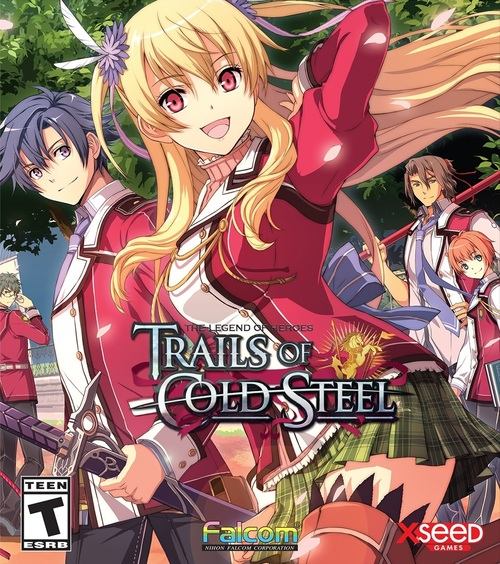 Cover for The Legend of Heroes: Trails of Cold Steel.