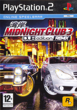 Cover for Midnight Club 3: Dub Edition Remix.