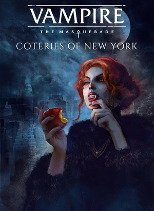 Cover for Vampire: The Masquerade – Coteries of New York.