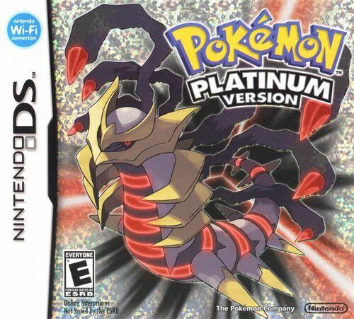 Cover for Pokémon Platinum.