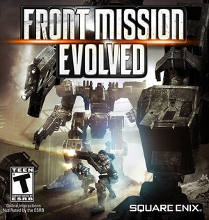 Cover for Front Mission Evolved.