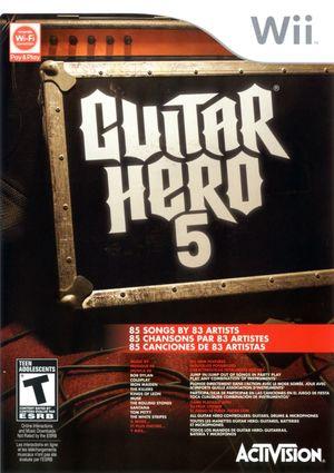 Cover for Guitar Hero 5.