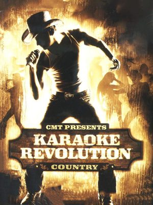 Cover for CMT Presents: Karaoke Revolution Country.