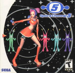 Cover for Space Channel 5.