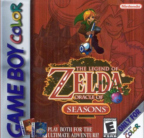Cover for The Legend of Zelda: Oracle of Seasons.