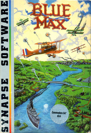 Cover for Blue Max.