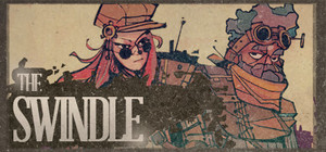 Cover for The Swindle.
