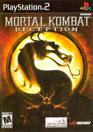 Cover for Mortal Kombat: Deception.