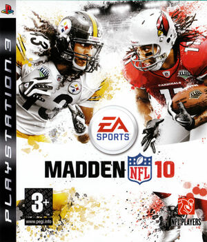 Cover for Madden NFL 10.