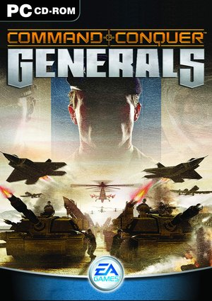 Cover for Command & Conquer: Generals.