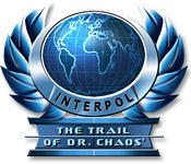 Cover for Interpol: The Trail of Dr. Chaos.