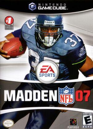Cover for Madden NFL 07.