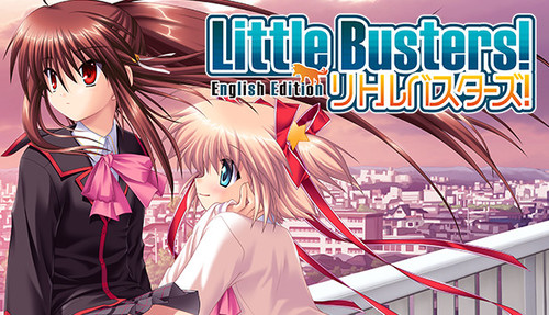 Cover for Little Busters!.