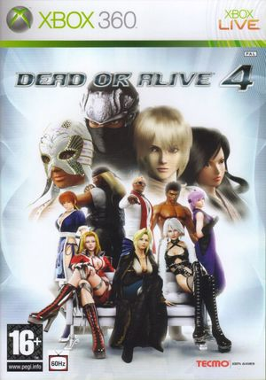 Cover for Dead or Alive 4.