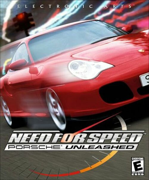 Cover for Need for Speed: Porsche Unleashed.