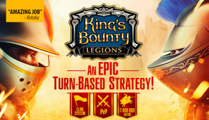 Cover for King's Bounty: Legions.
