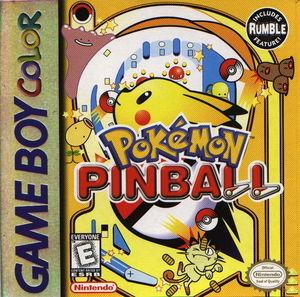 Cover for Pokémon Pinball.