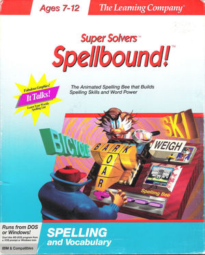 Cover for Spellbound!.