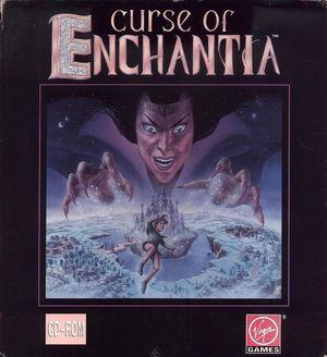 Cover for Curse of Enchantia.