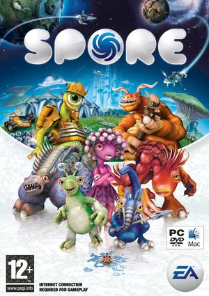 Cover for Spore.