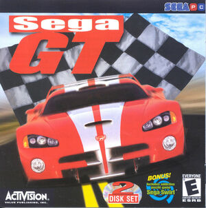 Cover for Sega GT.