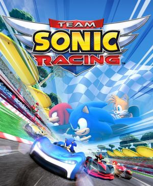 Cover for Team Sonic Racing.