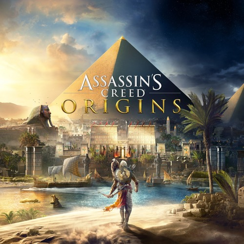 Cover for Assassin's Creed Origins.