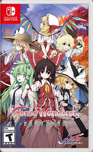 Cover for Touhou: Genso Wanderer - Reloaded.