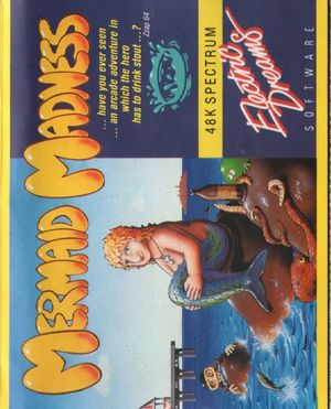 Cover for Mermaid Madness.