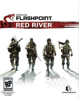 Cover for Operation Flashpoint: Red River.