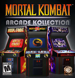 Cover for Mortal Kombat Arcade Kollection.