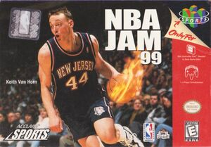 Cover for NBA Jam 99.