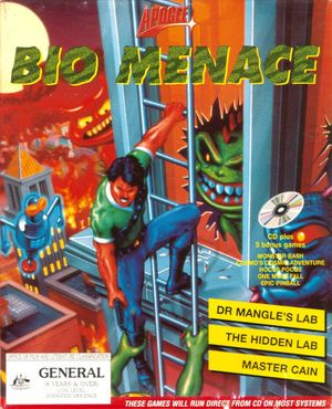Cover for Bio Menace.