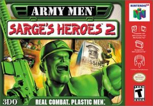 Cover for Army Men: Sarge's Heroes 2.