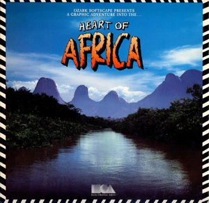 Cover for Heart of Africa.