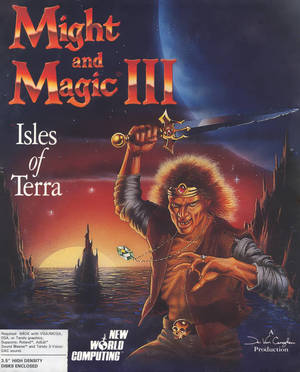 Cover for Might and Magic III: Isles of Terra.
