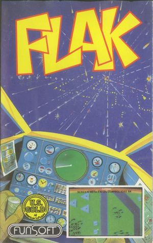 Cover for Flak: The Ultimate Flight Experience.