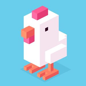 Cover for Crossy Road.