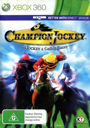 Cover for Champion Jockey: G1 Jockey & Gallop Racer.